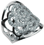 sK18WG ダイヤモンド リング